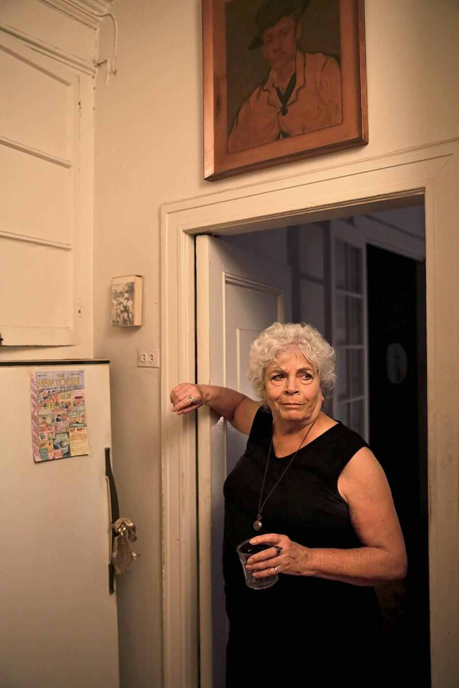 Edith Grossman in her apartment in New York.  Shaminder Dulai for Newsweek