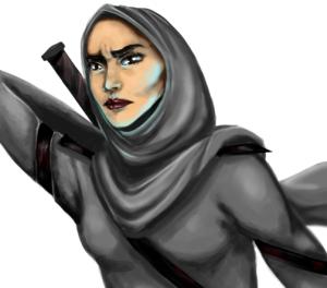 Qahera, a webcomic by Deena Mohamed. http://qaherathesuperhero.com - See more at: http://islamicommentary.org/2014/07/qahera-webcomic-creator-deena-mohamed-talks-superheroes-gaza-and-women/#sthash.bEcVGX1M.dpuf