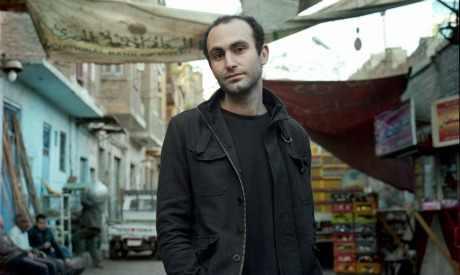 Egyptian-British actor, producer, filmmaker and political activist Khalid Abdalla (Photo: Rena Effendi)
