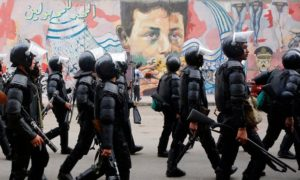 The graffiti walls are seen by some as the last standing evidence of the revolution. Photograph: Amr Dalsh/Reuters