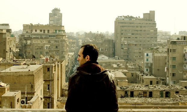 Khalid Abdalla in a scene from In the Last Days of the City. Photograph: Zero Production